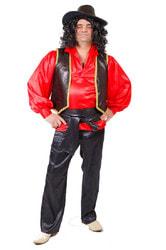 Фото Костюм Цыган в красной рубахе взрослый