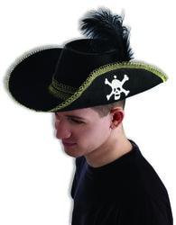 Фото Шляпа пирата взрослая