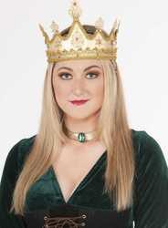 Фото Корона королевы золотая