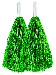 Фото Помпоны черлидерши зеленые