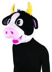 Фото Маска коровы плюшевая взрослая