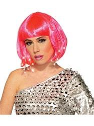 Фото Парик розовый женский взрослый