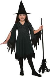 Фото Костюм Ведьмочка черная детский