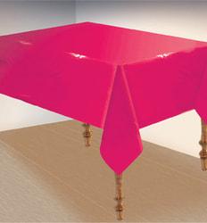 Фото Скатерть ярко-розовая