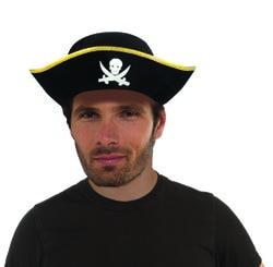 Фото Пиратская шляпа с черепом Forum