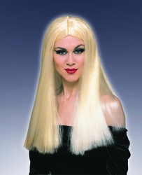 Фото Парик длинный блонд без челки Forum