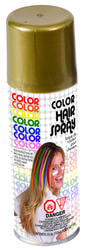 Фото Золотой спрей-краска для волос Forum