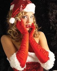 Фото Длинные перчатки мисс Санта Forum