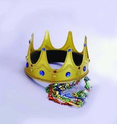 Фото Корона короля высокая мягкая Forum
