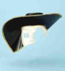 Фото Маска Призрак оперы в шляпе на 1/2 лица Forum
