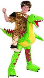 Фото Костюм Первобытный наездник на динозавре детский Forum