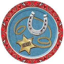 Фото Набор тарелок Дикий Запад 18 см (8 шт) Forum