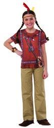 Фото Костюм рубашка индейской принцессы детский Forum