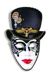 Фото Маска Мадам стимпанк в шляпе Forum