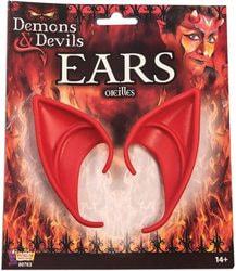 Фото Накладные красные уши дьявола Forum