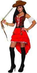 Фото Костюм Пиратка с манжетами взрослый Forum