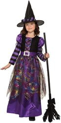 Фото Костюм Ведьма в паутине детский Forum
