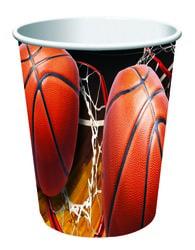 Фото Набор стаканчиков Баскетбол 250 мл (8 шт) Forum