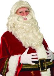 Фото Набор парик и борода Санта Клауса премиум взрослый Forum