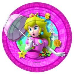 Фото Набор тарелок Принцесса Супермарио 18 см (8 шт) Forum