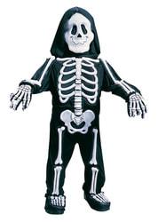 Фото Костюм Скелет с объемными костями 3D детский