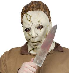 Фото Набор Майкл Майерс маска и нож взрослый
