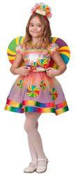 Фото Костюм Батик Конфетка разноцветная детский