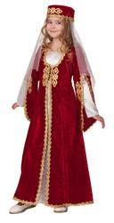 Фото Костюм Батик кавказский бордовый для девочки
