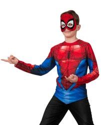 Фото Костюм Батик Человек-паук с маской детский