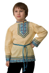 Фото Косоворотка вышиванка Батик детская