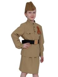 Фото Костюм Солдат с юбкой для девочки