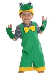 Фото Костюм Лягушонок зеленый детский