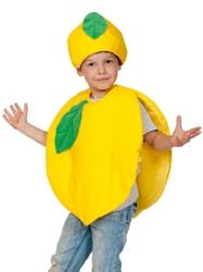 Фото Костюм Лимон желтый детский