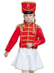 Фото Костюм Мажоретка в белой юбке детский