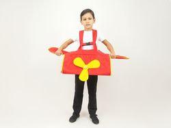 Фото Костюм каркасный самолет детский