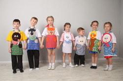 Фото Карнавальный набор для театральной постановки сказки Колобок
