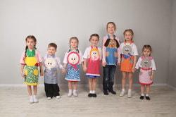 Фото Карнавальный набор для театральной постановки сказки о Репке
