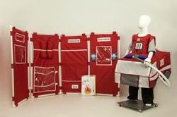Фото Комлект костюмов и декораций для сюжетно-ролевой игры Пожарная часть