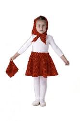 Фото Косынка красная детская
