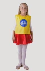 Фото Жилет дорожный знак велосипедная дорожка