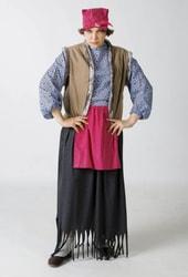 Фото Костюм Баба-Яга с платком взрослый