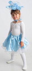 Фото Костюм Подснежник в голубом детский