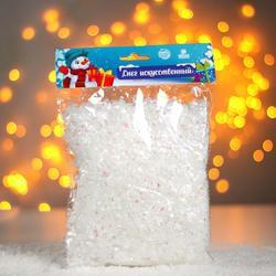 Фото Снег для декора на Новый год (хлопья, 100 г)