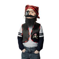 Фото Карнавальный набор пирата Черная борода