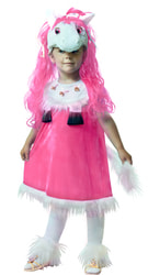 Фото Костюм Пони розовый для девочки