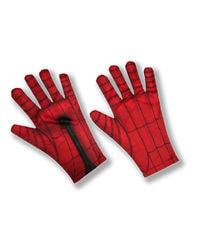 Фото Перчатки Человека-паука красные взрослые