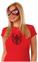 Фото Маска Человек-паук повязка для глаз женская