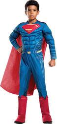 Фото Костюм Супермена мускулистый детский