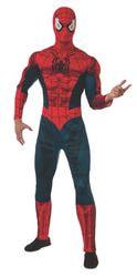 Фото Костюм Человек-паук с мускулами люкс взрослый