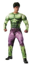 Фото Костюм Халк с мускулами взрослый